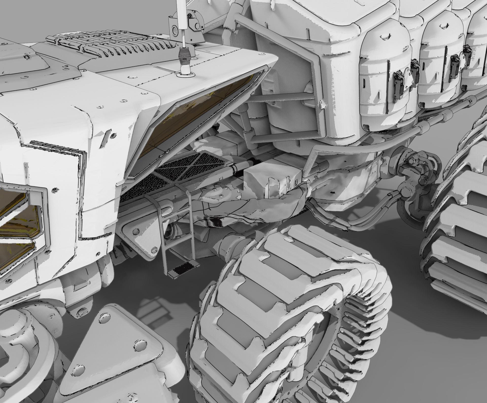 Roberto robert mars buggy kitbash 74