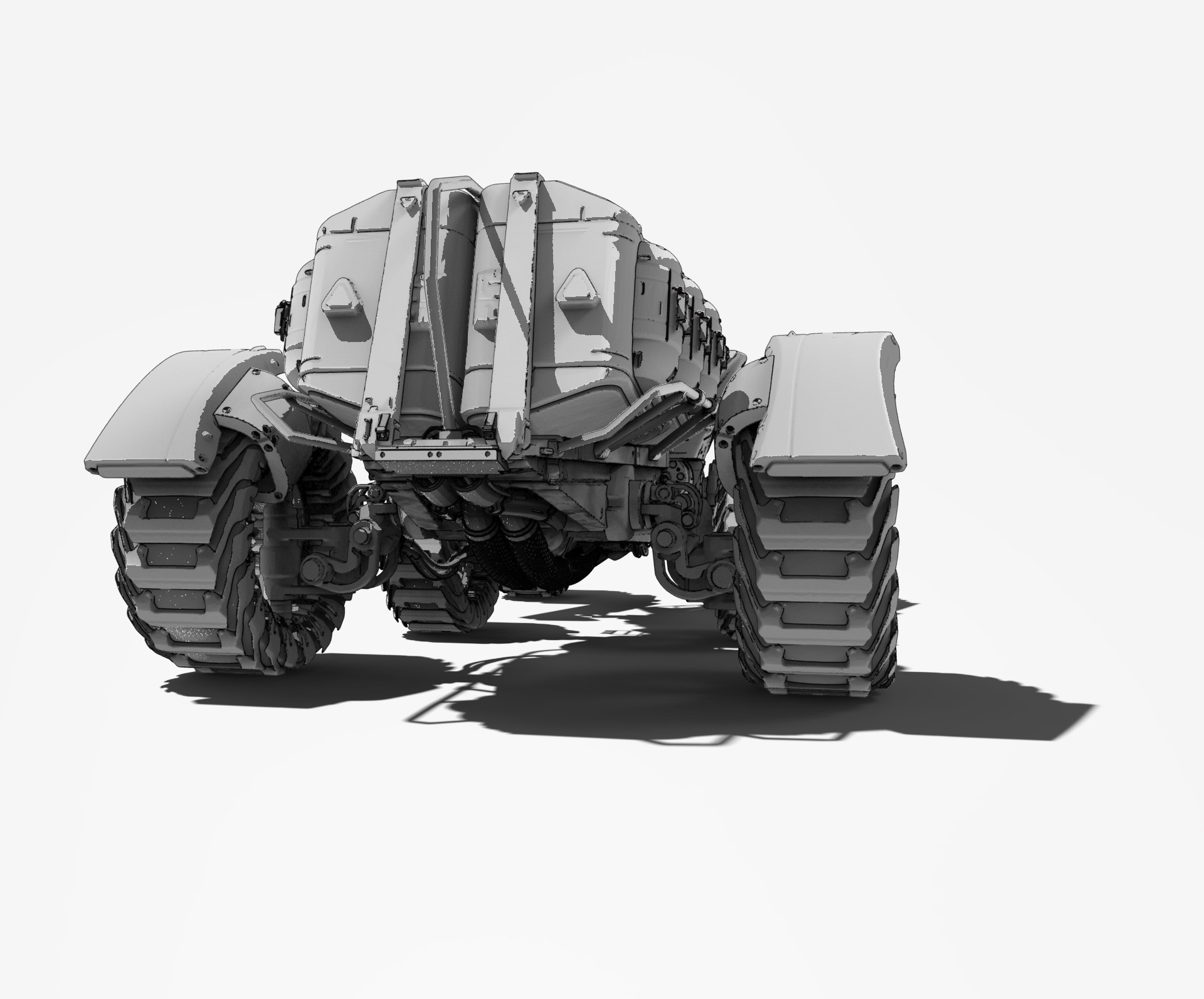 Roberto robert mars buggy kitbash 61