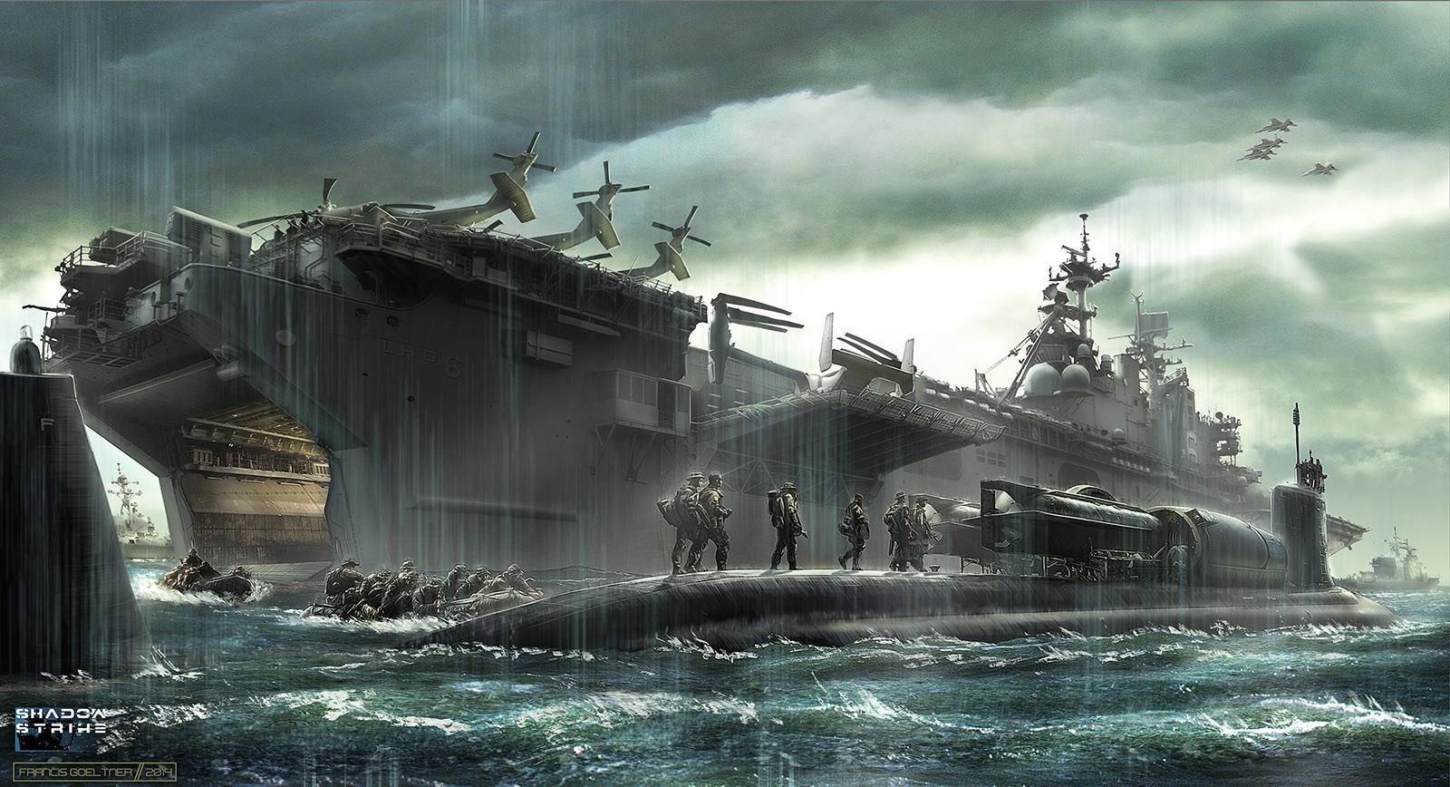 South China Sea - The Submarine