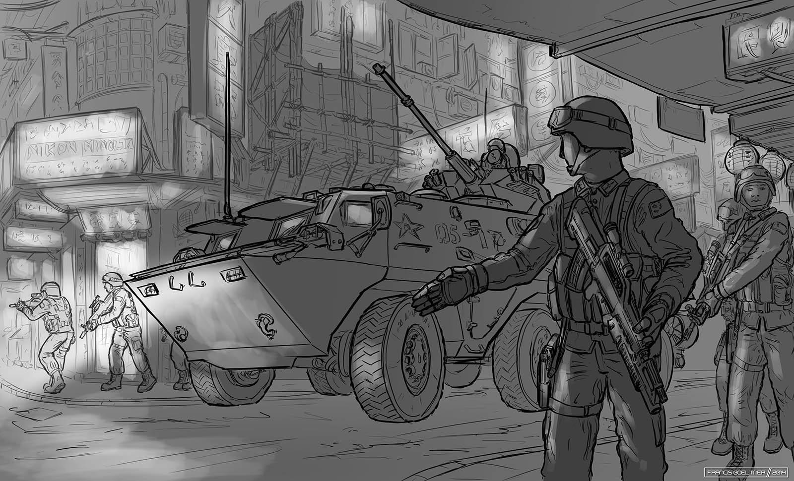 Preparation Sketch