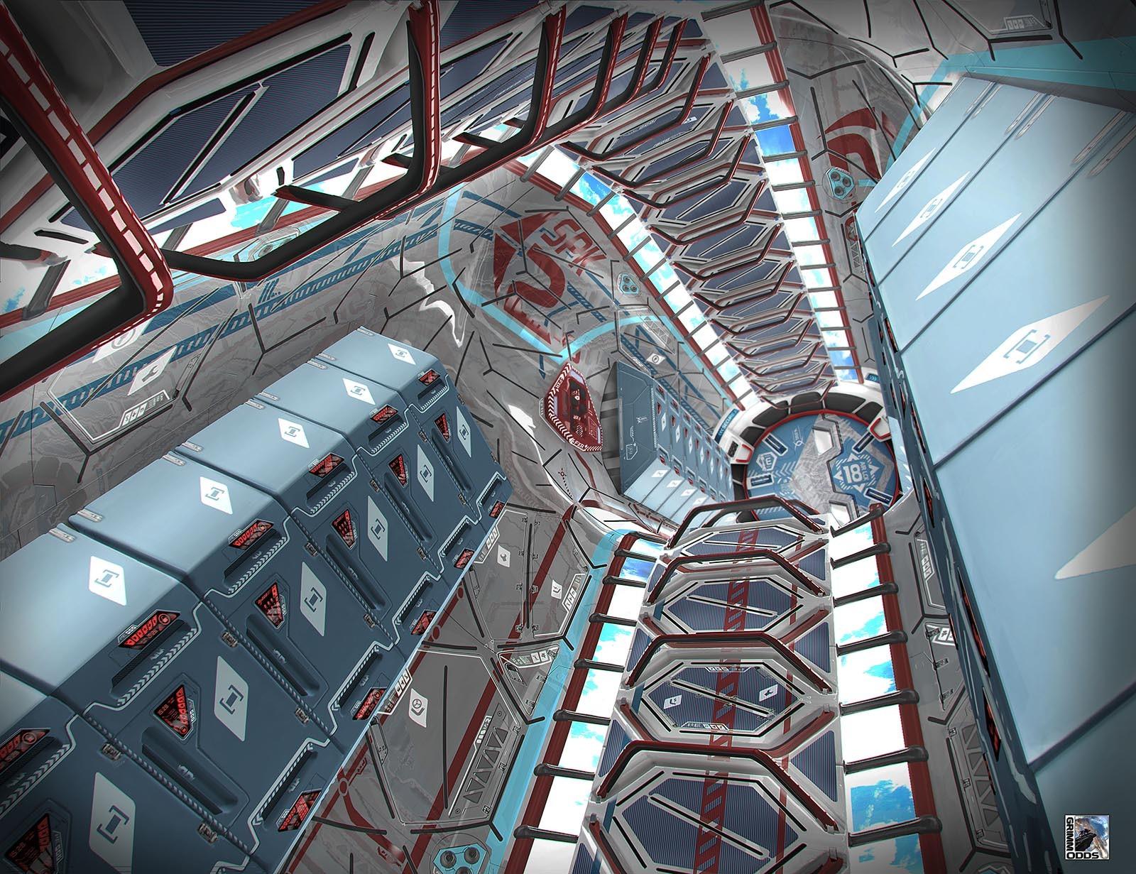 Grimm Odds - Tube Corridor