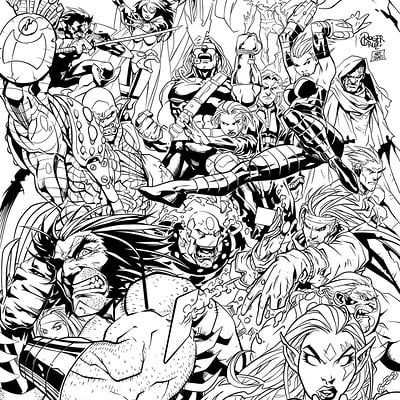 Matt james age of apocalypse by mattjamescomicarts d9x5w9n