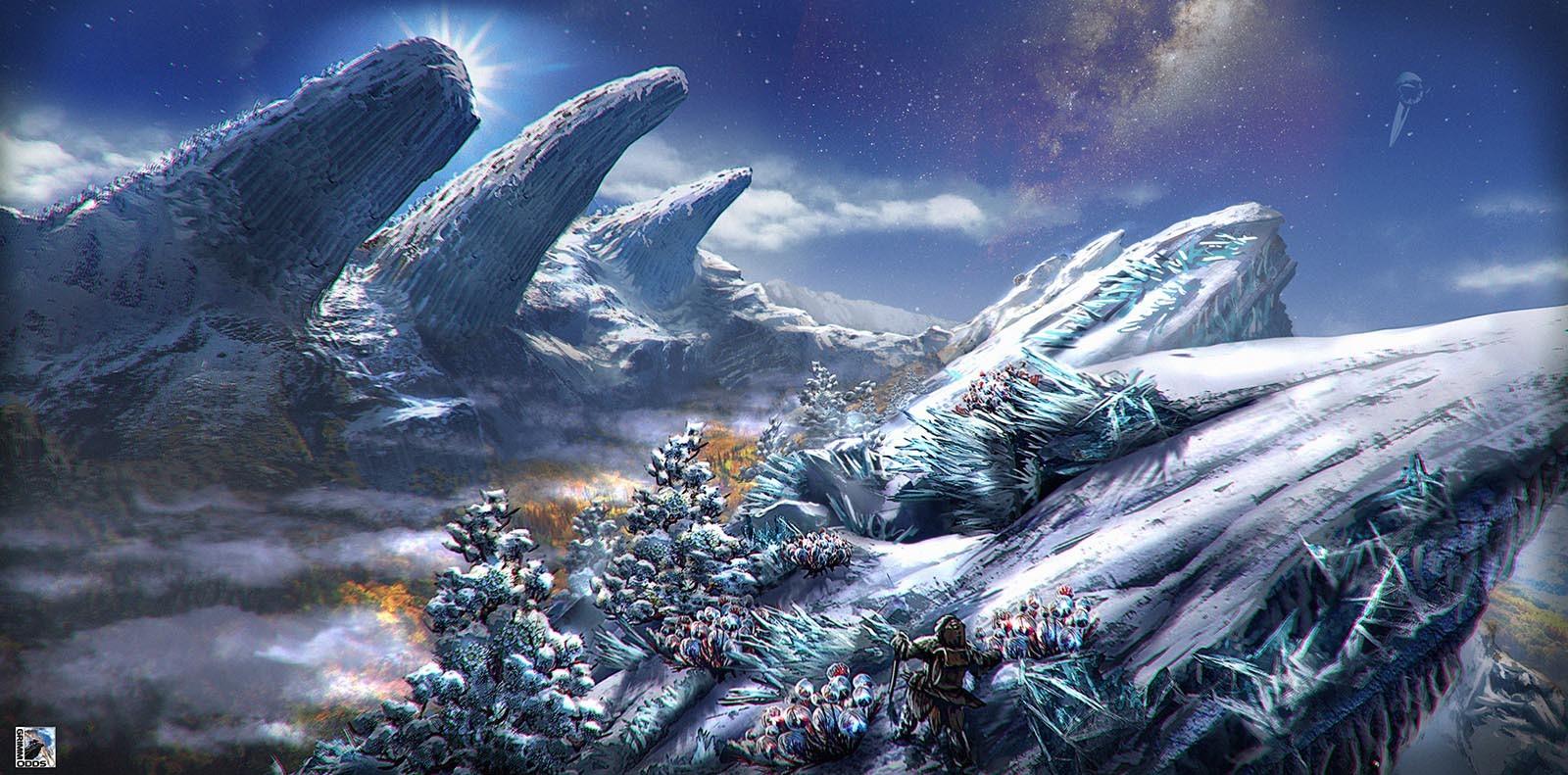 Grimm Odds - Snowy Peaks