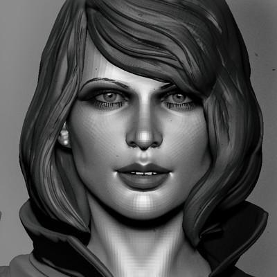 Woman sculpt 2