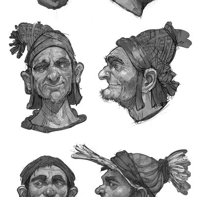 Mike mccarthy face sketches 1