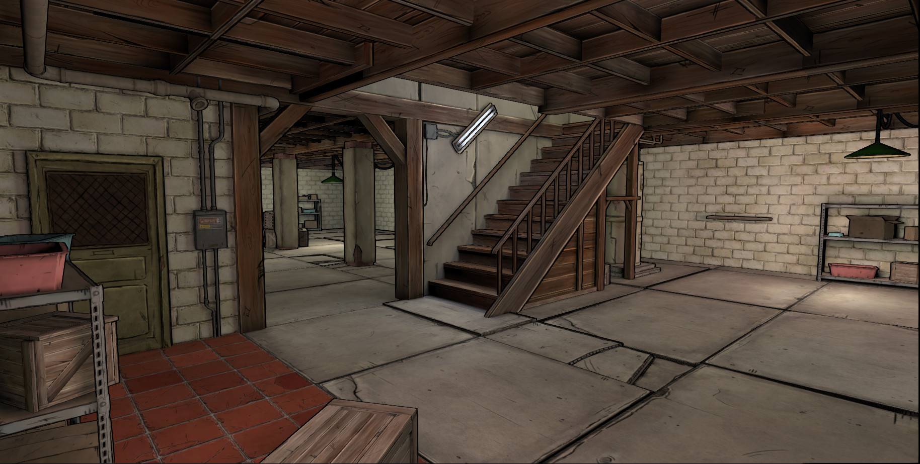 Mitchell wilson basement 019