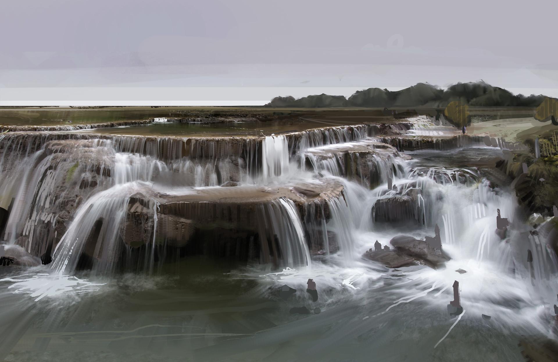 Anya elvidge waterfall city