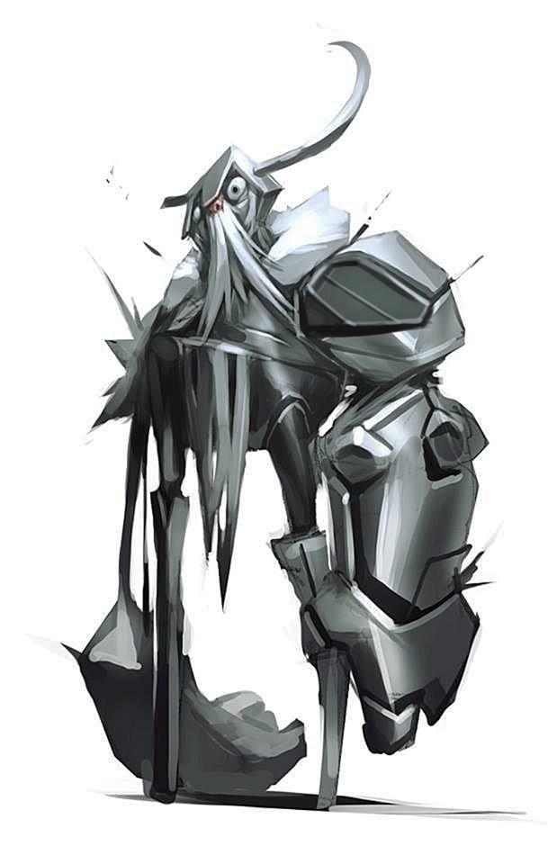 metal arm