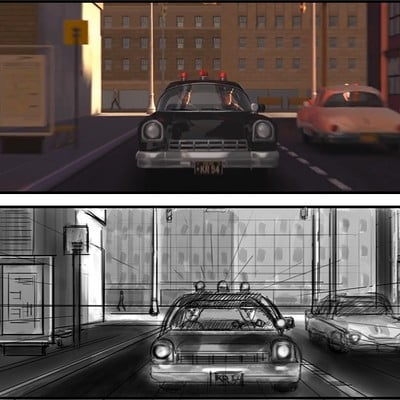 Storyboards - Redraw Those Shots! - The Incredibles