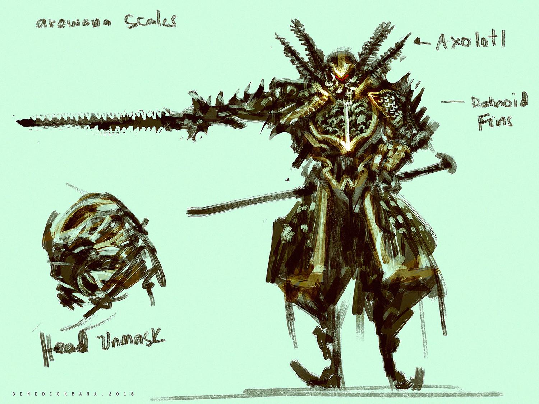 Benedick bana exotic samurai armor lores