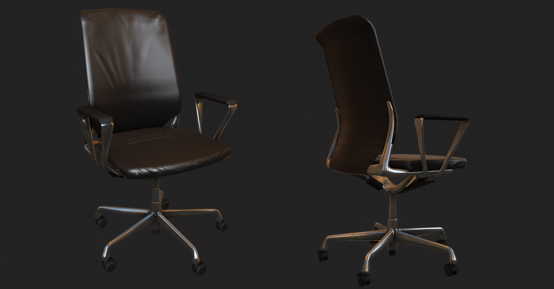 Vitra Chair Office Meda [low]