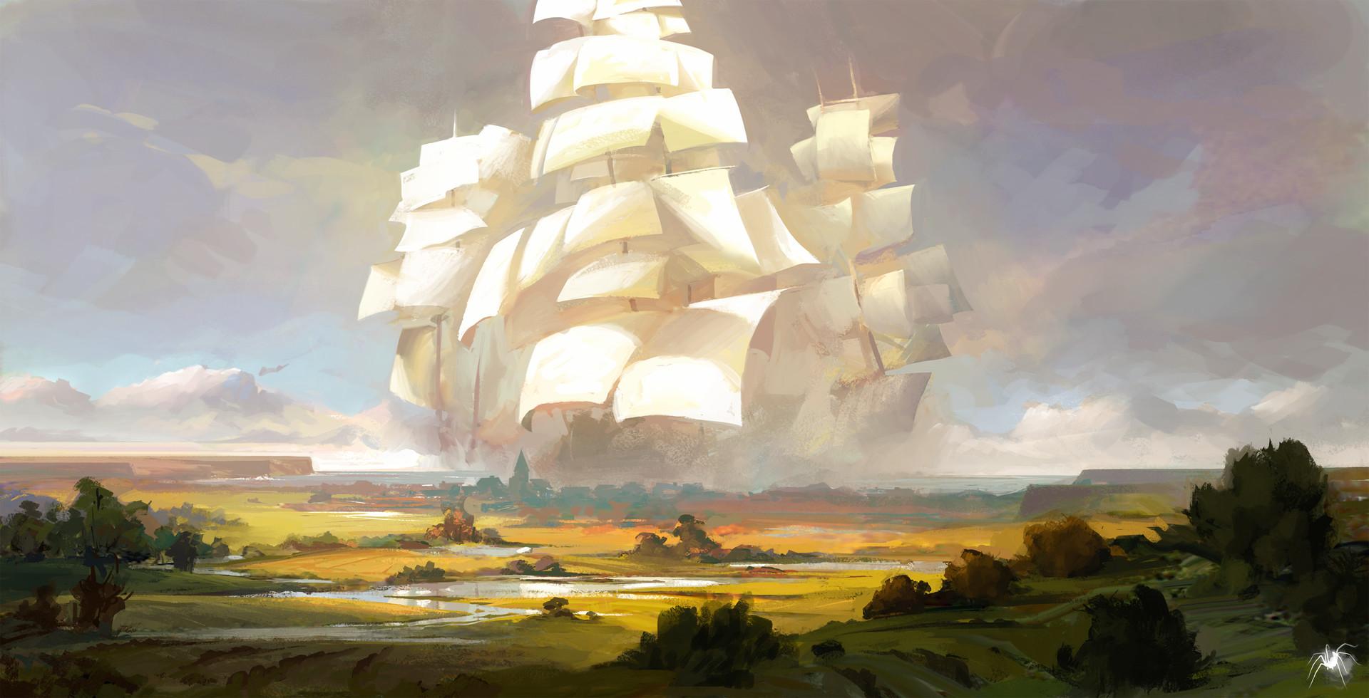 Картинки небесных кораблей