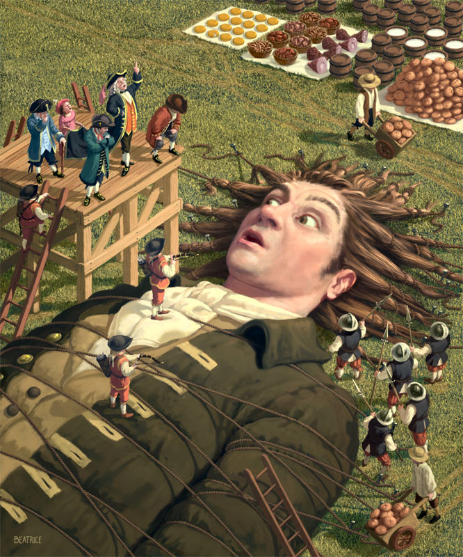 gulliver s Free summary and analysis of the events in jonathan swift's gulliver's travels that won't make you snore we promise.