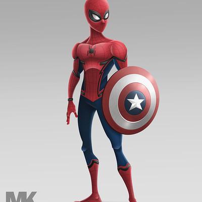 Mayank kumar spider man marvel civil war 2016