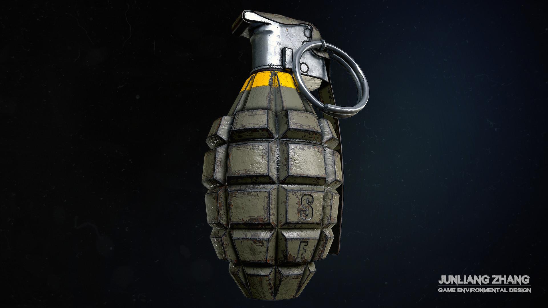 Junliang zhang mk2 grenade 1