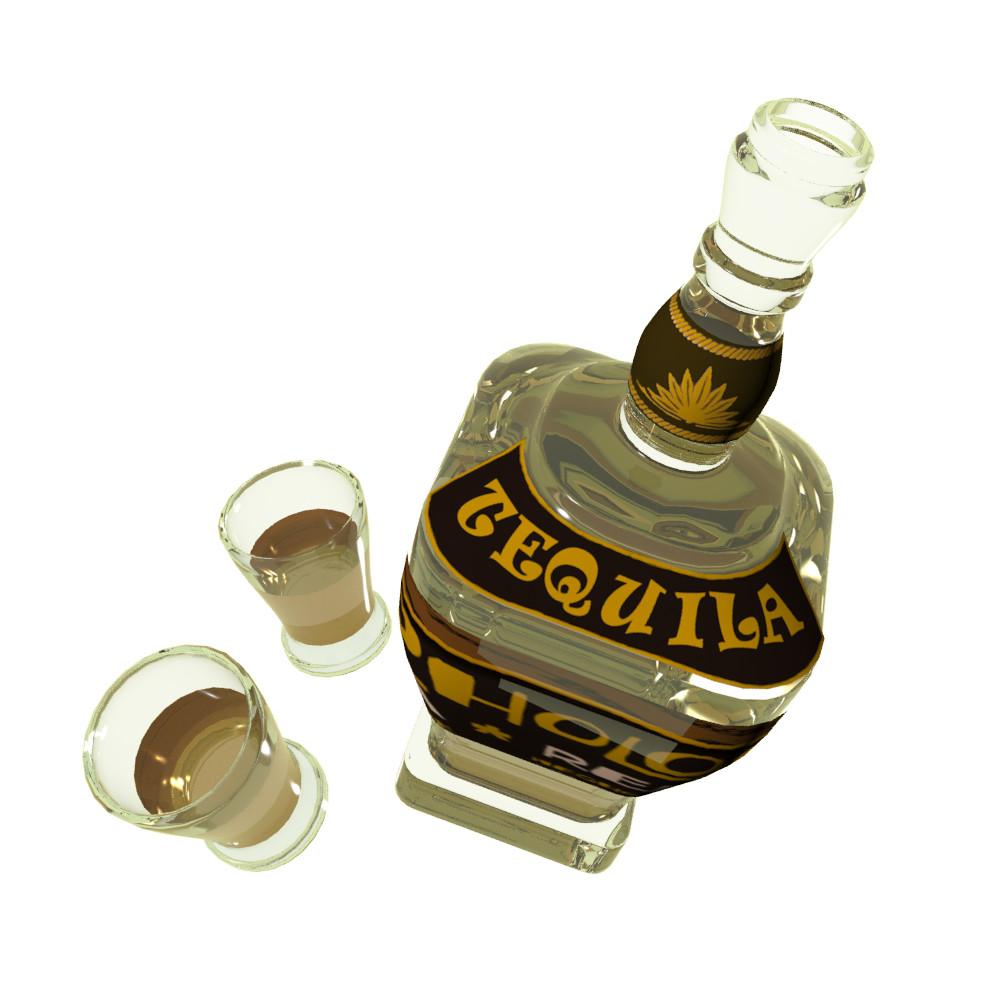 Petar doychev tequila botle 2