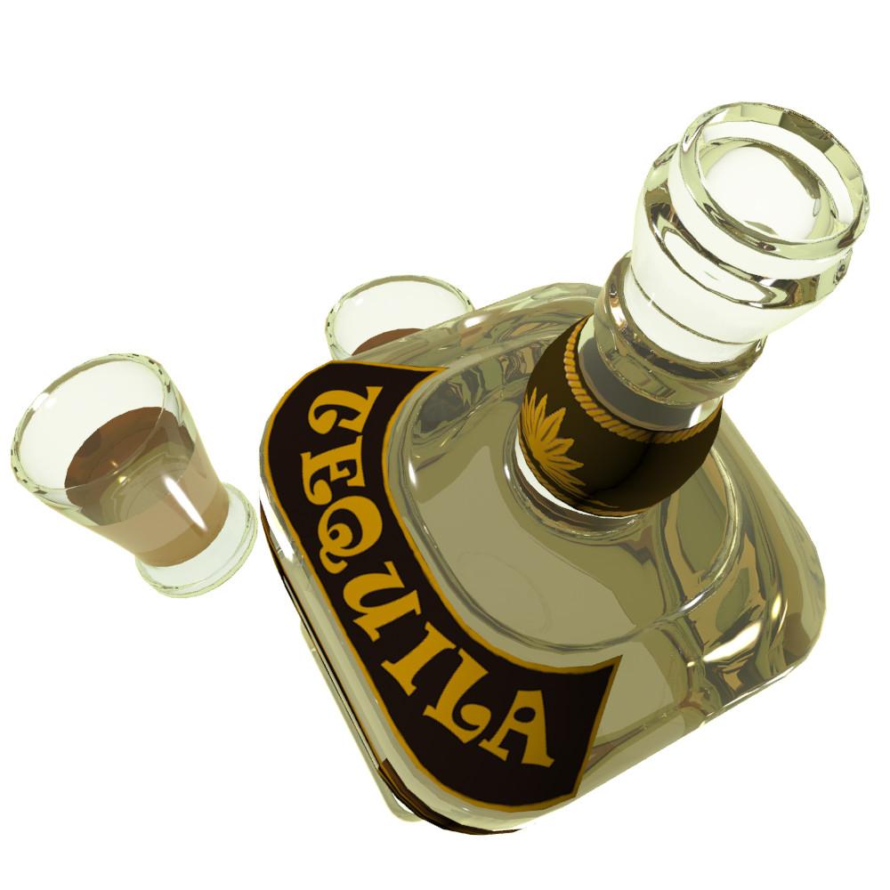 Petar doychev tequila botle 3
