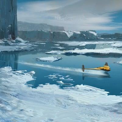 Jad saber icy environment 3