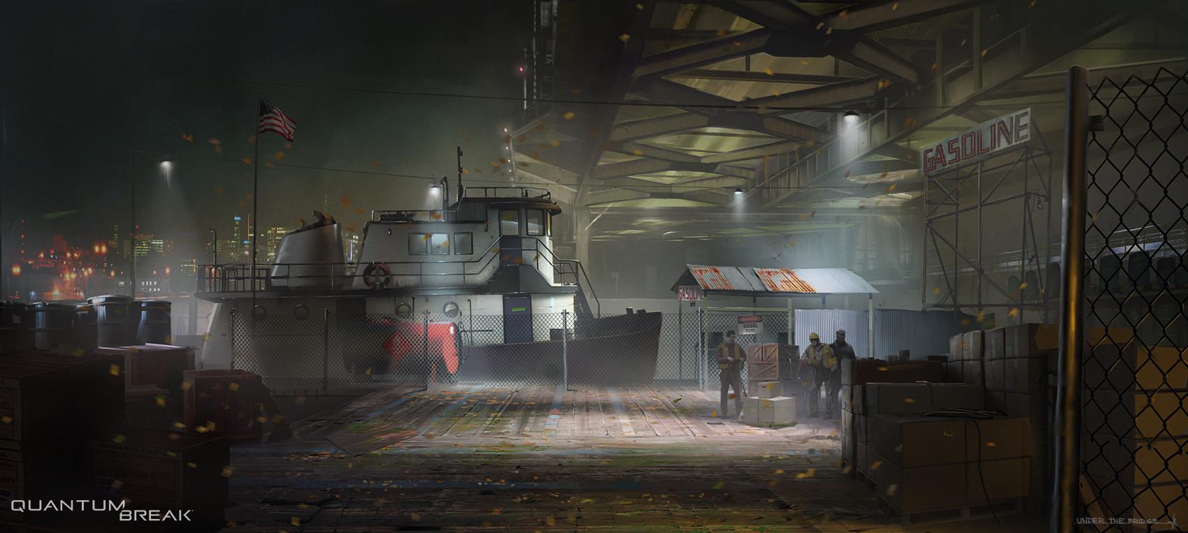 Ville assinen under bridge concept2