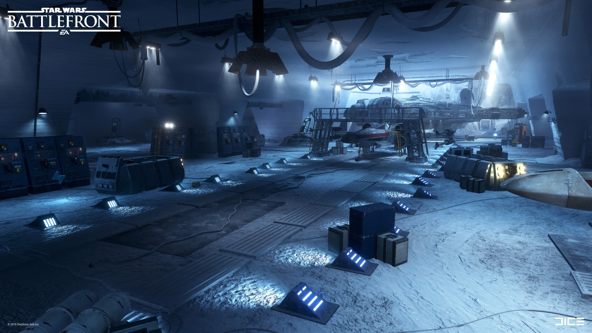 Artstation Star Wars Battlefront Rebel Base Pontus Ryman