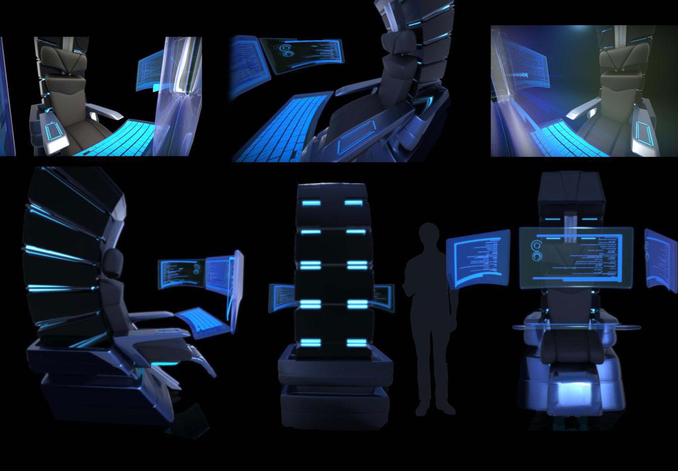 Sci-Fi Chair