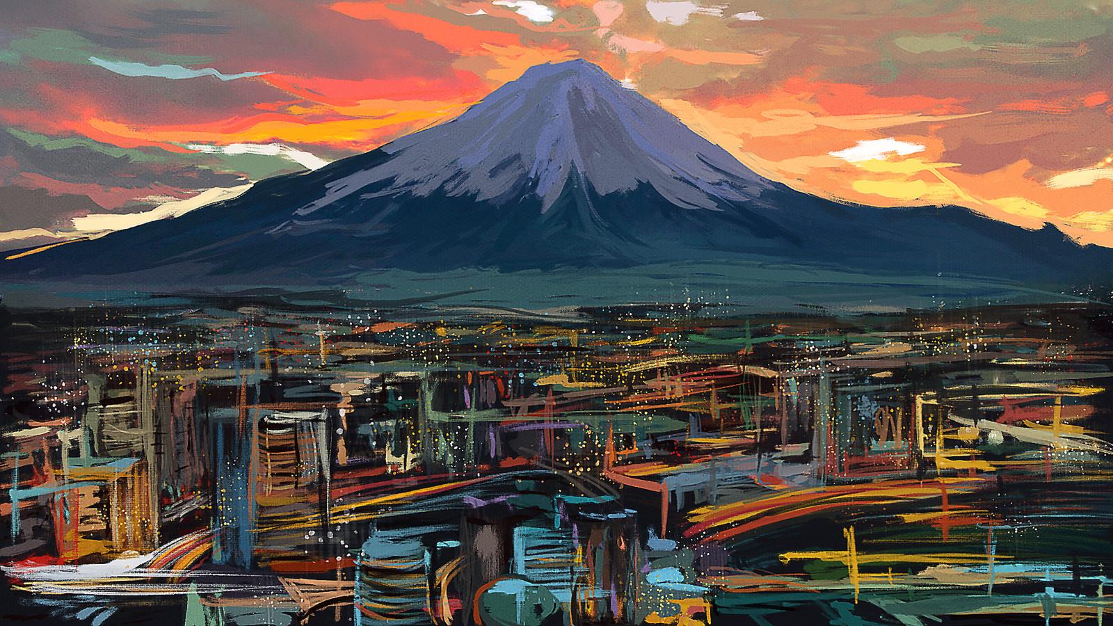 Fuji [Speedpaint]