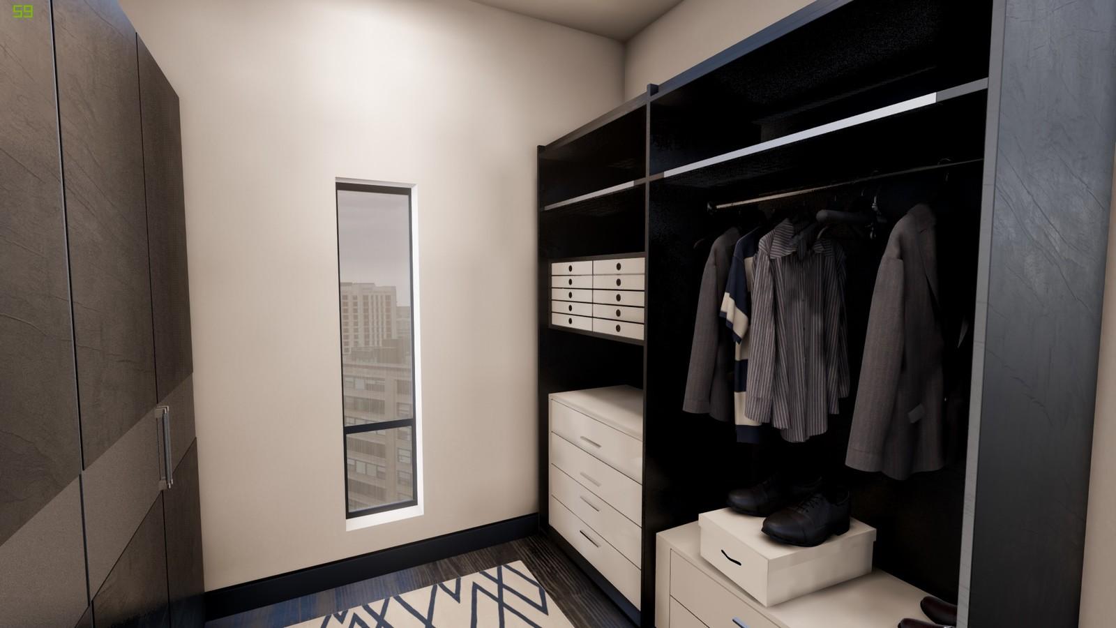 Dressing Room - Master Bedroom