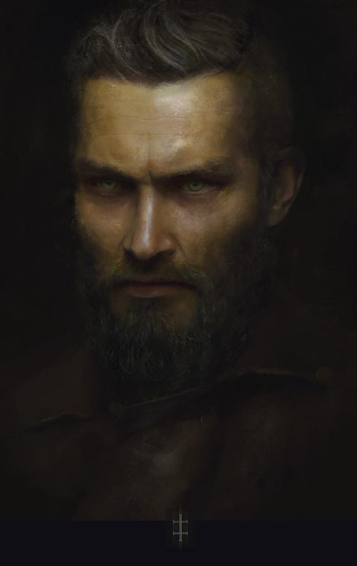 Eve ventrue male portrait
