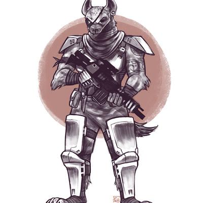 Ena lorenzo hyena soldier