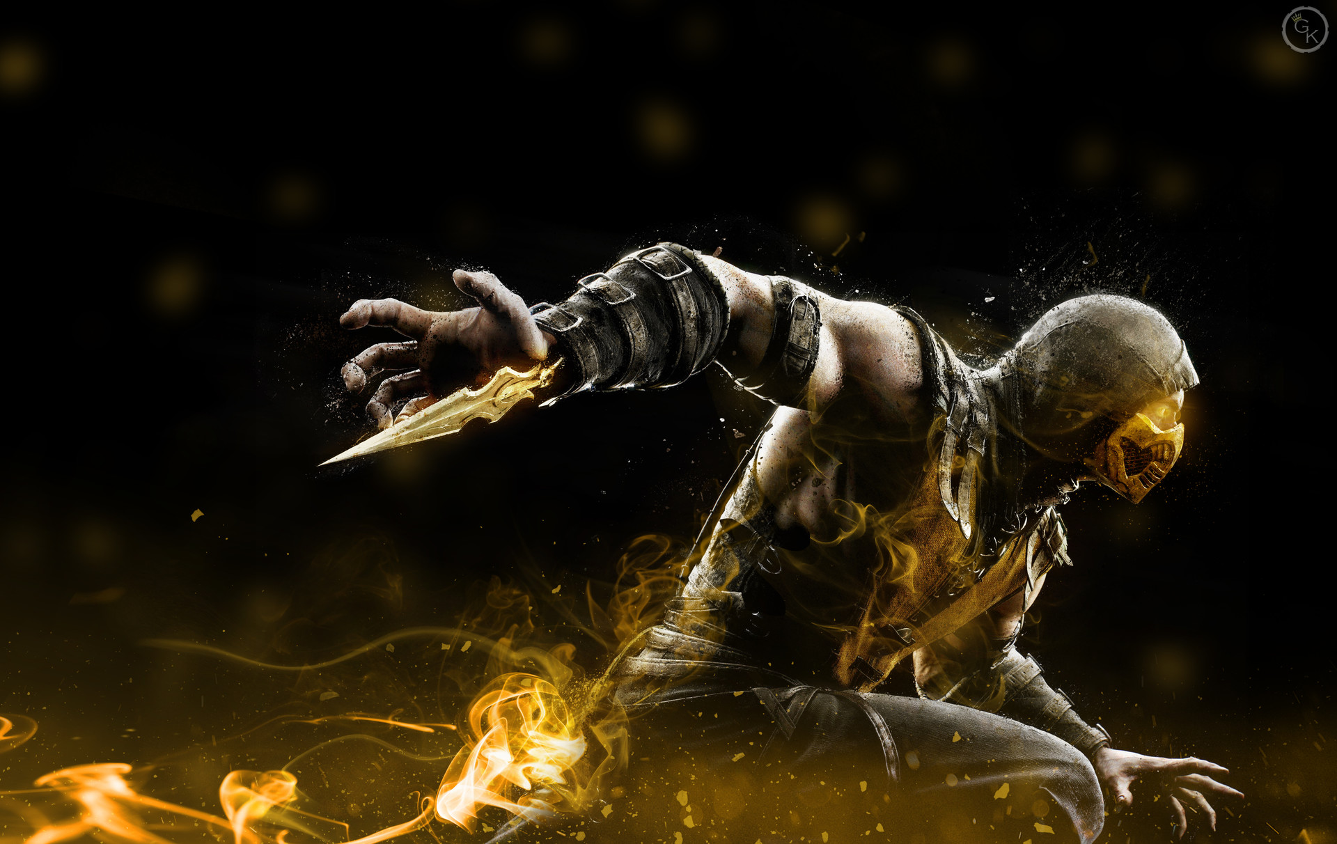 Artstation Mortal Kombat Scorpion Mahesh Campbell