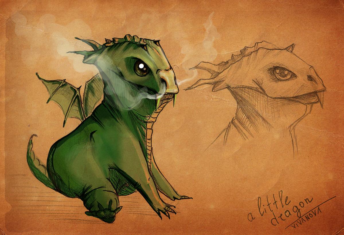 vera ivanova little angry dragon