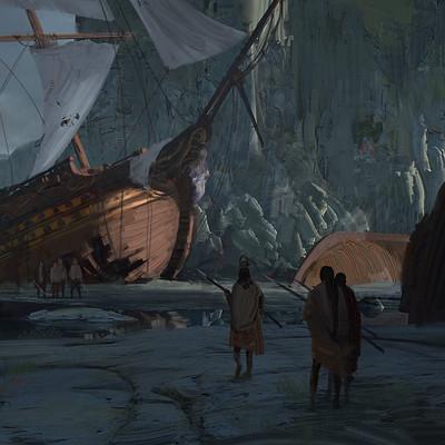 Jad saber ship graveyard