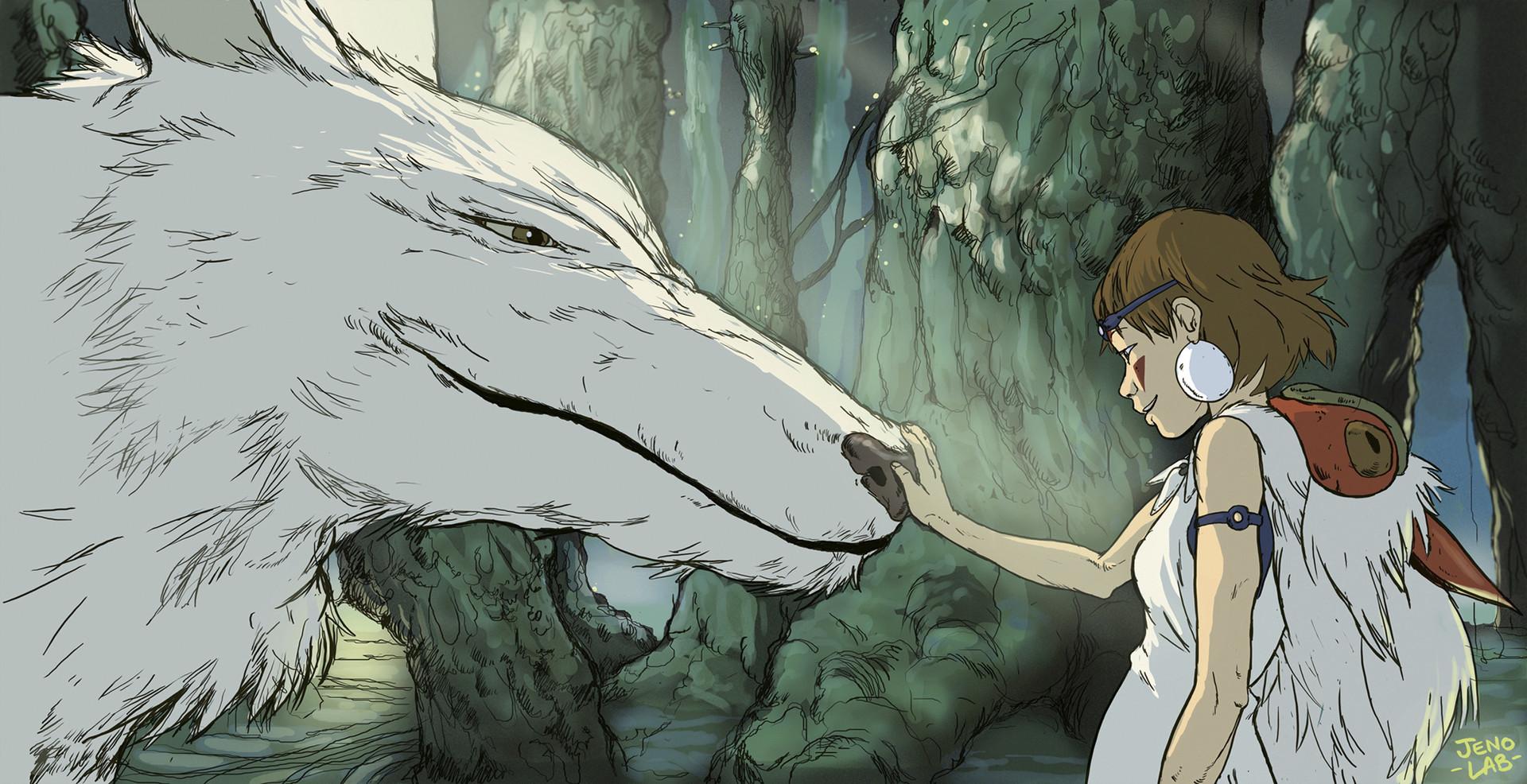 Ini Bukan Perang Antara Manusia Tapi Peradaban Dan Alam Mononoke Hime Adalah Anime Yang Menggambarkan Hubungan Teknologi