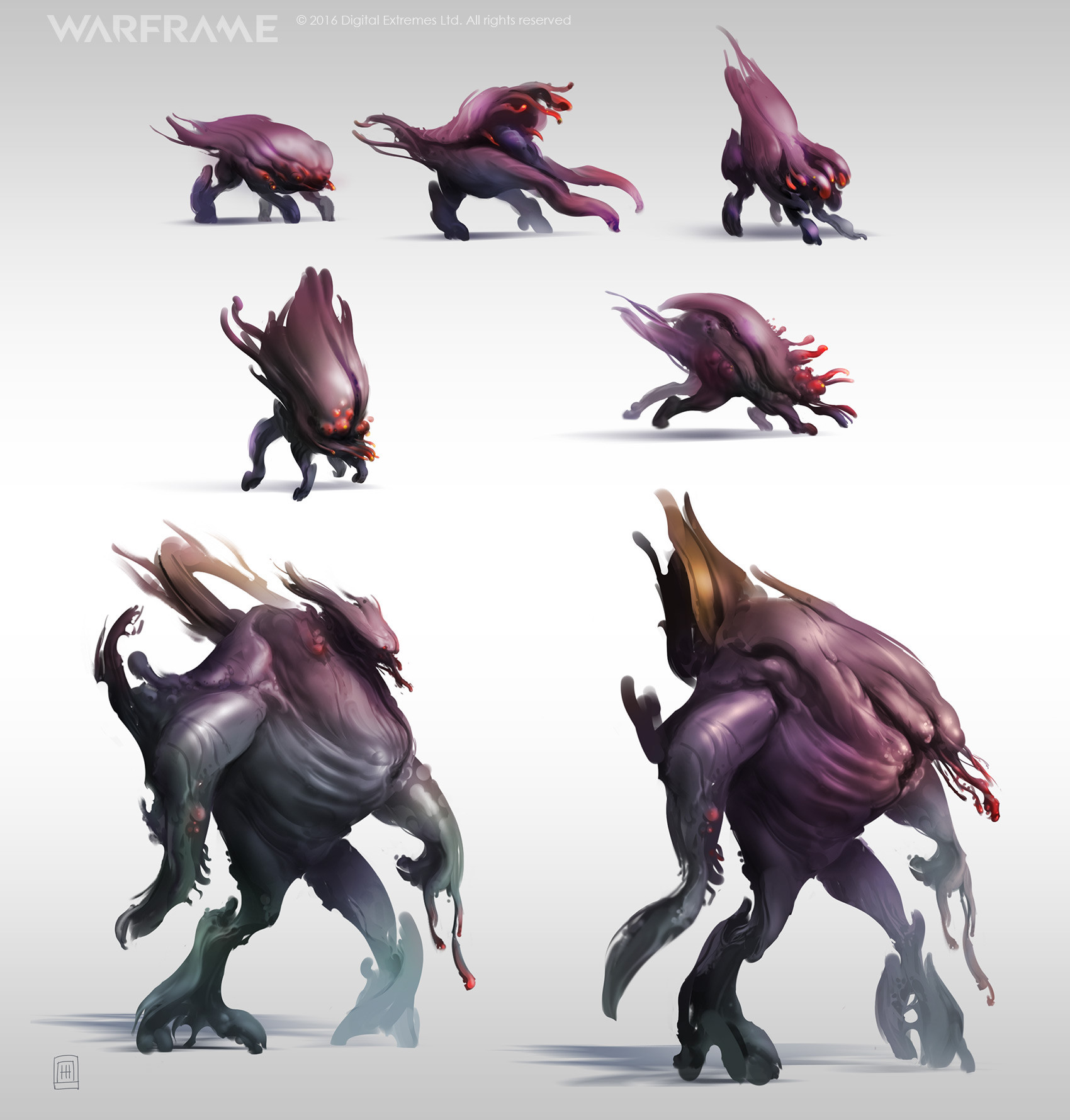 ArtStation - Warframe - Ancient Infested - Maggot, Zeljko Duvnjak