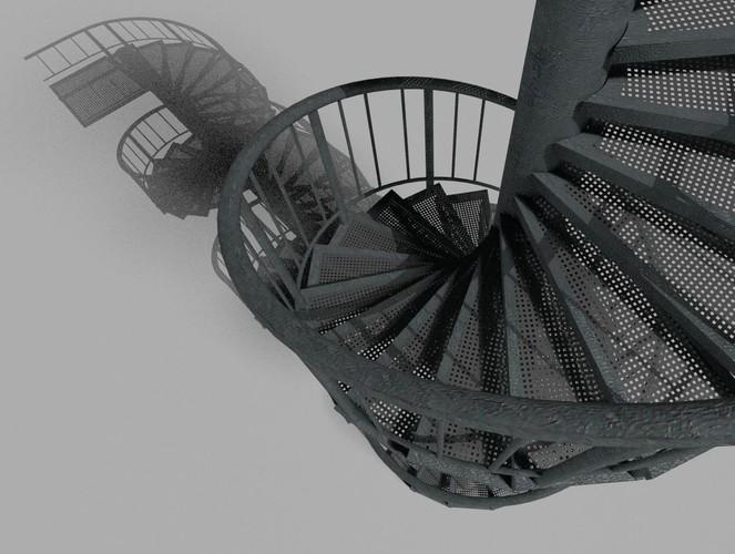 Dennis Haupt - Aluminum spiral staircases