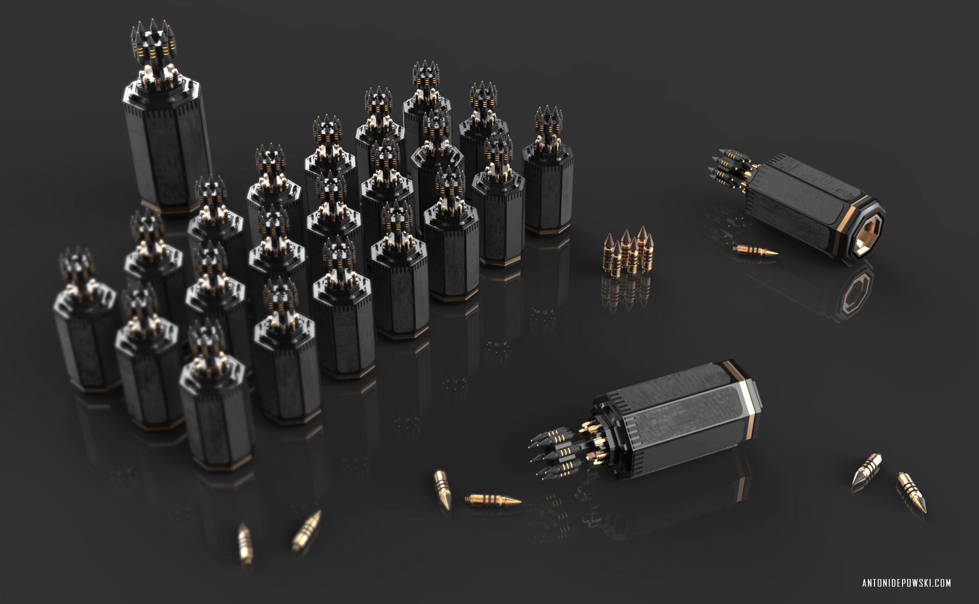 Antoni depowski hmg only bullets