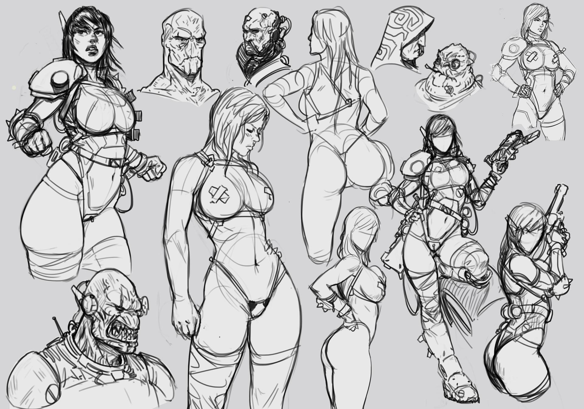 Salvador trakal sketch210a