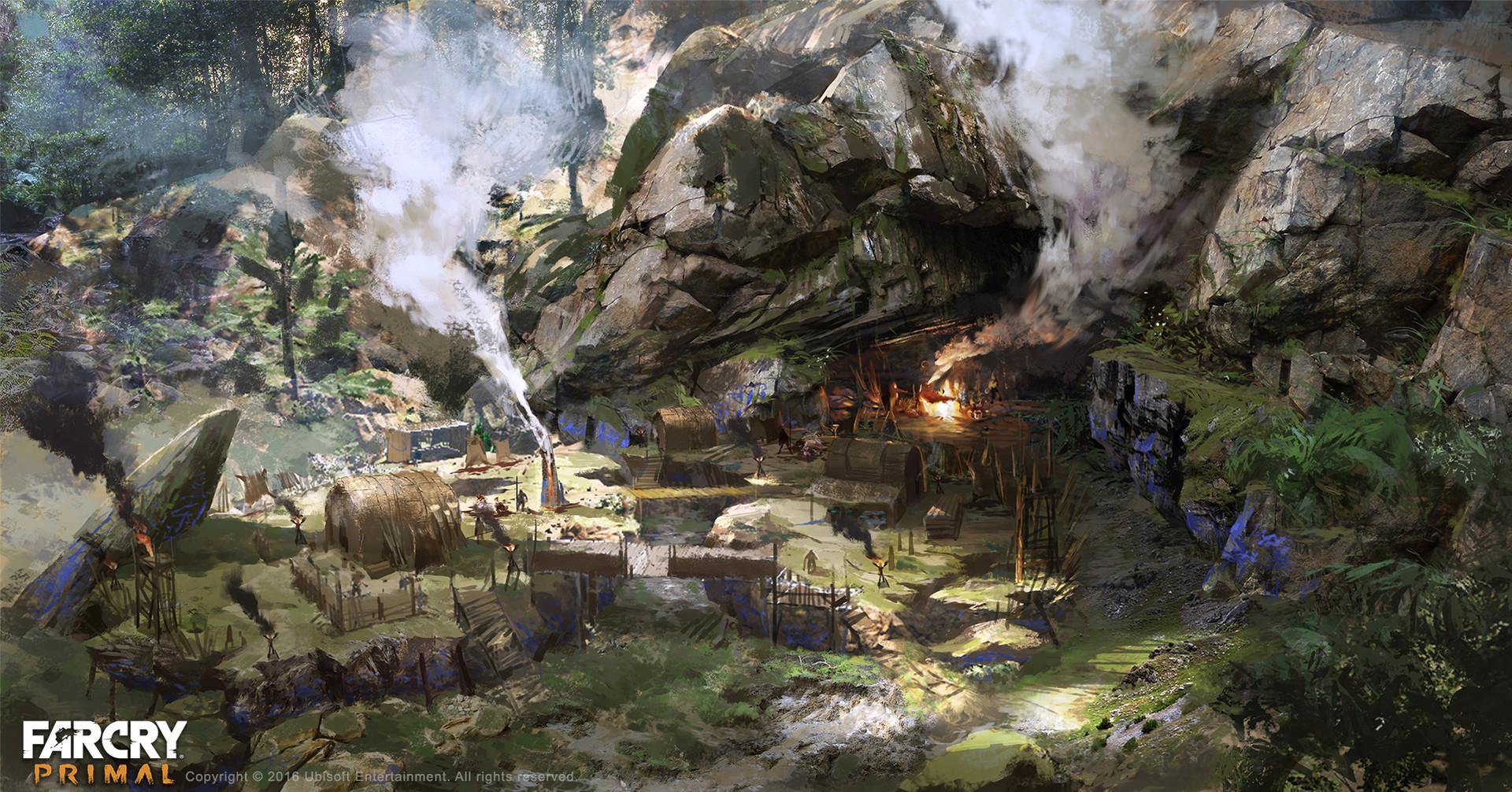 Artstation Cave Bear Leo Li