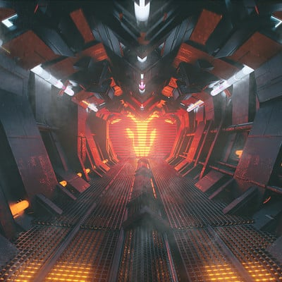 Kresimir jelusic robob3ar 92 090116 scifi corridor copy