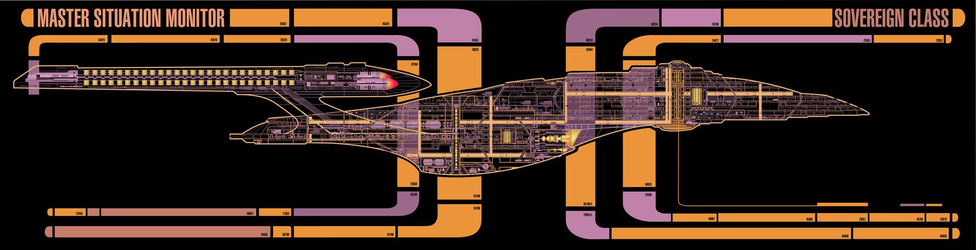 ArtStation - LCARS Interface - Star Trek - Enterprise E