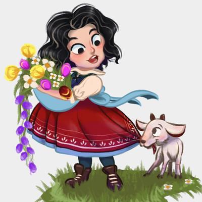 Gina rivas heidi character design 02