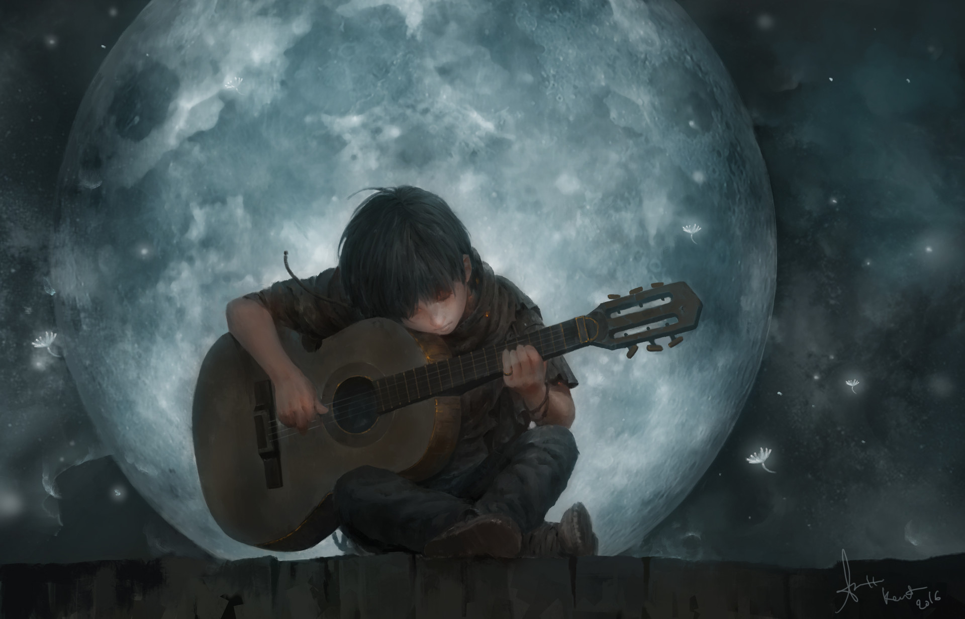 The Song Of The Moon, Lee Kent
