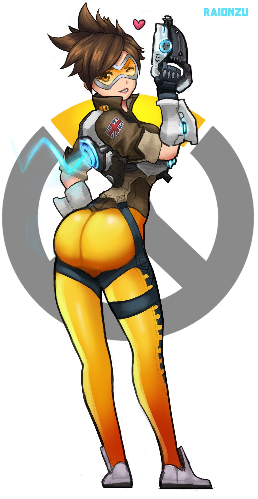 Tracer overwatch sexy Overwatch Tracer