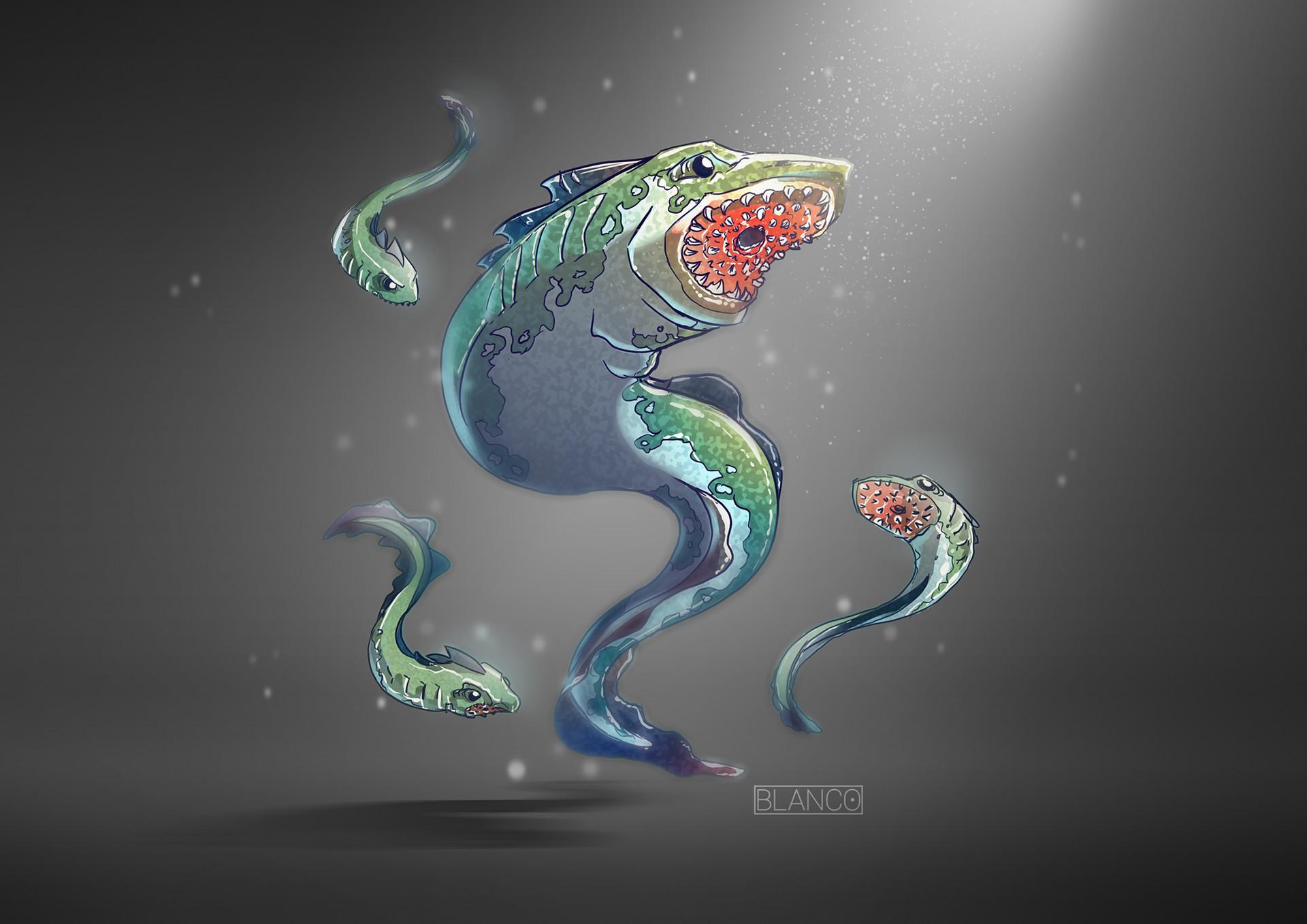 Felipe blanco lamprey minion