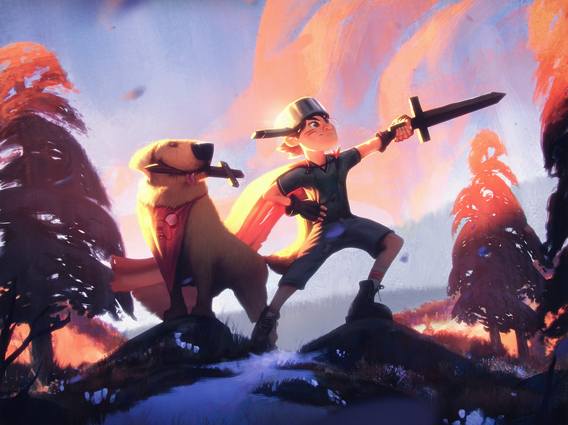 Wojtek fus adventure time2