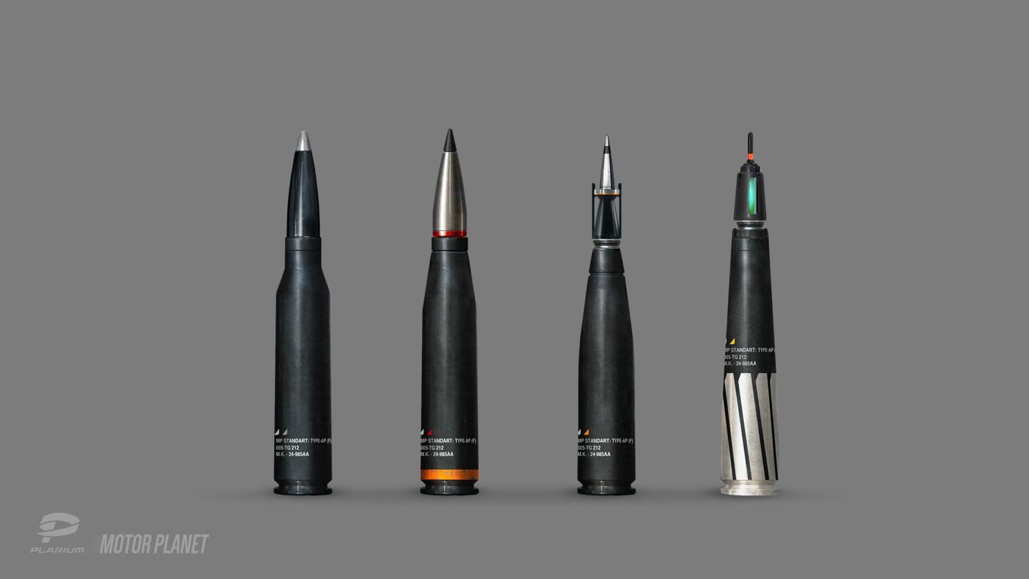 Tipa  graphic ammunition concepts hmg 03 clean