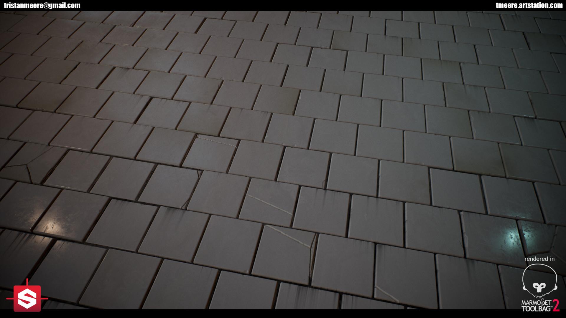 Tristan Meere - Subway Tile Walls - Substance Designer 5