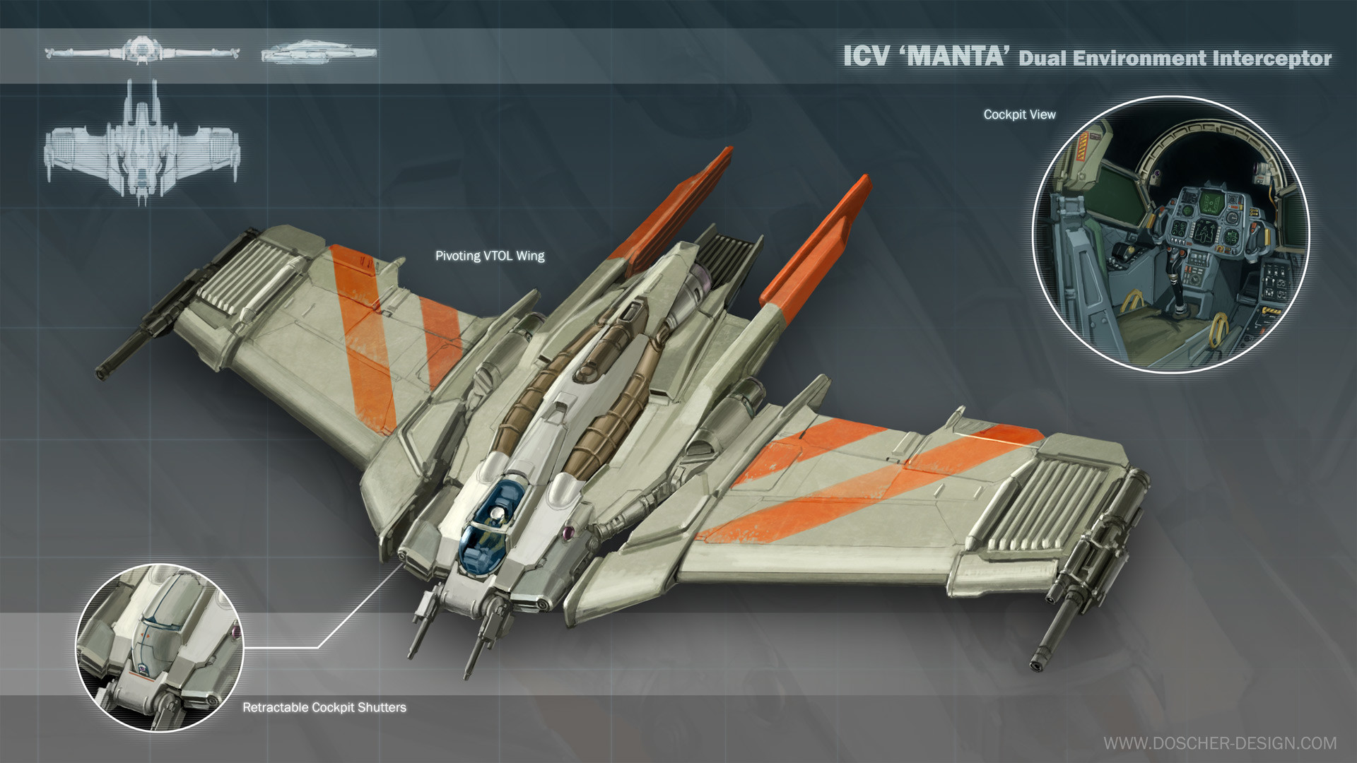 Mike doscher icv manta interceptor by mikedoscher d9tizhe