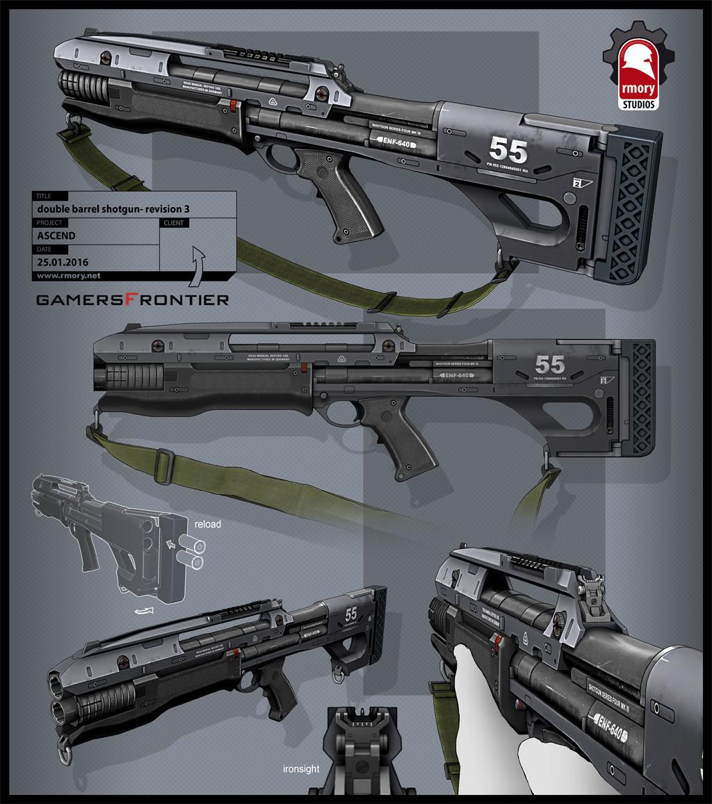 Ascend Shotgun - rmory studios