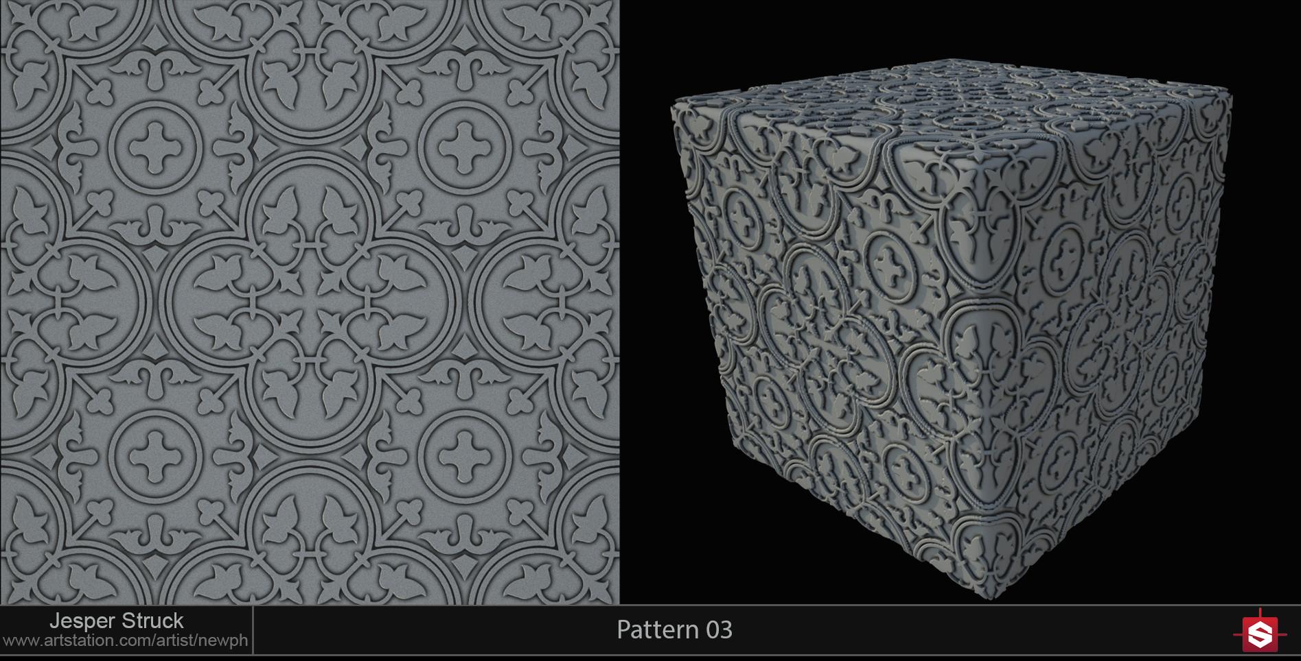 Jesper struck portfolio sd pattern 03